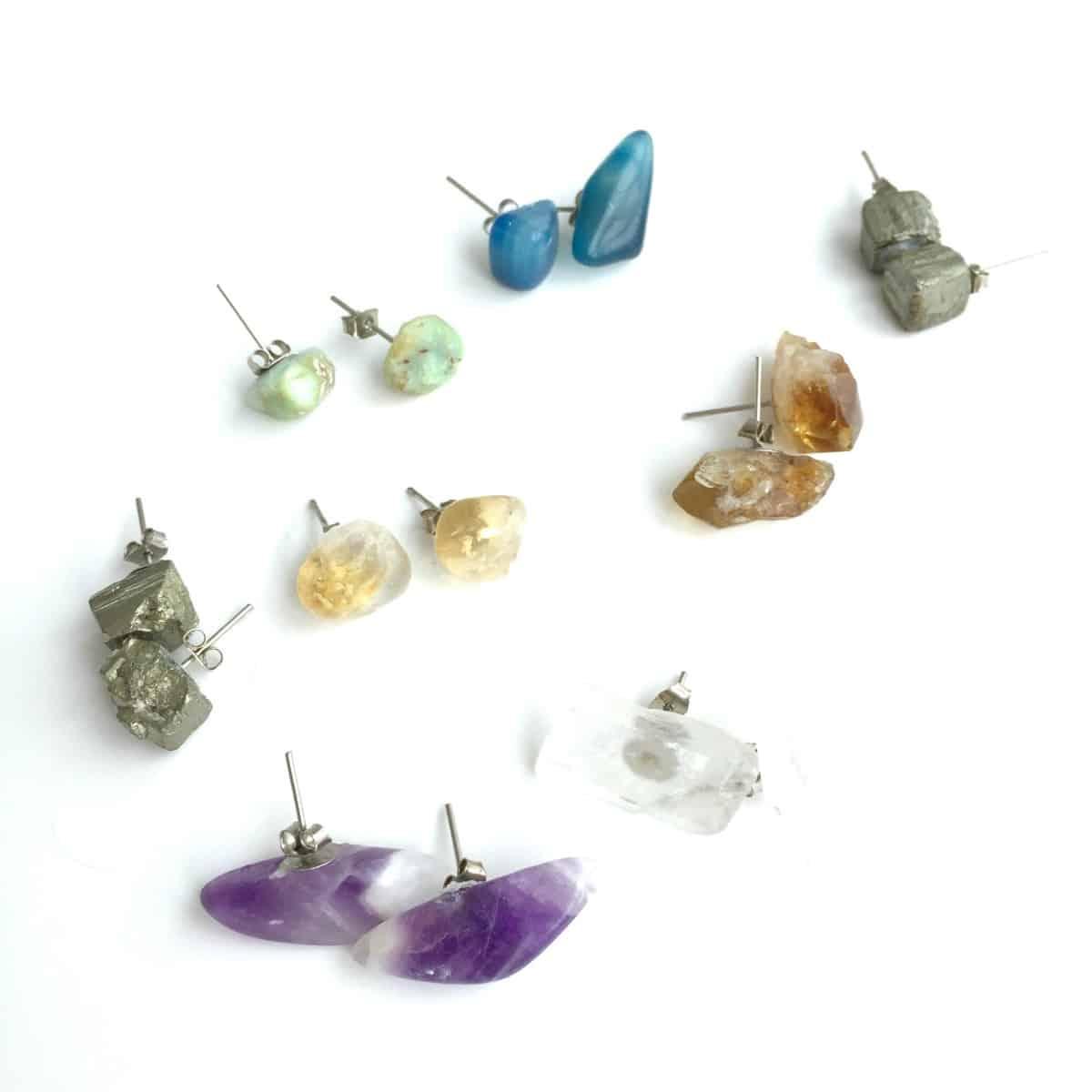 Simple Gemstone studs