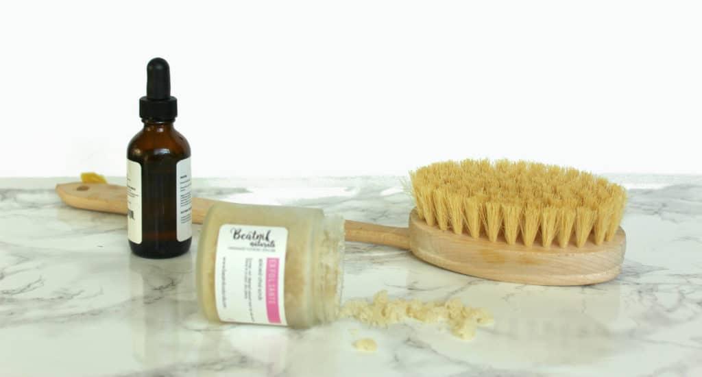 dry-brushng-benefits-scrub-body-oil