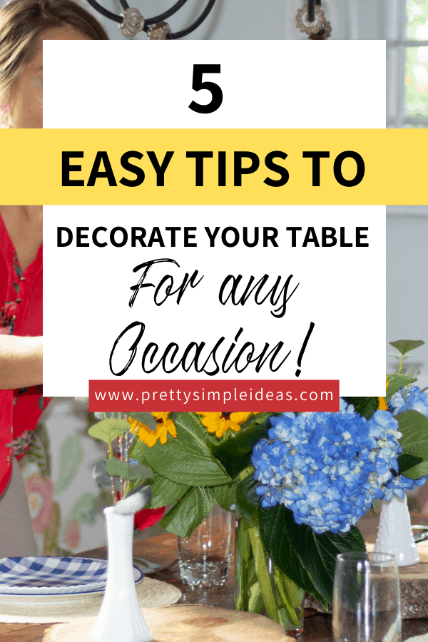 tablescape design for any occasion