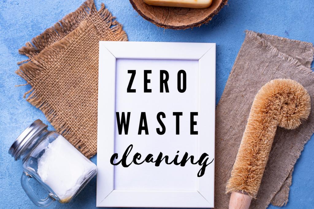 zero waste cleaning swaps